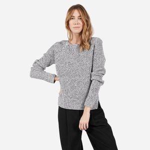 Everlane Chunky Wool Wide Crew Neck Sweater